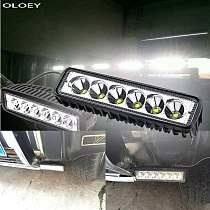 Car LED Work Light Light Bar Spot Flood Worklight 12V 18W For Bright White Lighting for Truck Tractor Offroad Vehicle 4Pc/2Pc/1P