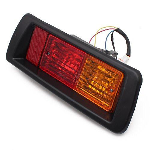 Car Rear Bumper Fog Light Mark Light for Toyota Land Cruiser Prado (90) 1997 1998 1999 2000 2001 2002 Red LED Tail Lights