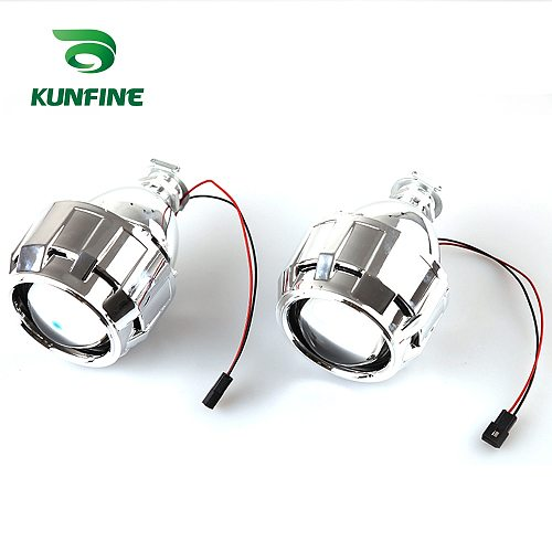 2Pcs/lot LHD/RHD 2.5 inch Bi-Xenon HID Projector Lens Shrouds car high/low beam for car headlight halogen or xenon bulb