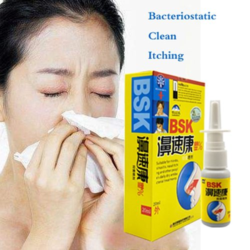Chinese Traditional Medical Herb 20ml Spray Nasal Cure Rhinitis Sinusitis Nose Spray Bottle Anti-snore Apparatus Health Care