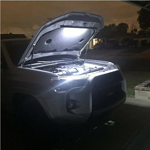 2021 New Car Universal Under Hood Engine Repair 36cm LED Light Bar with Switch Control