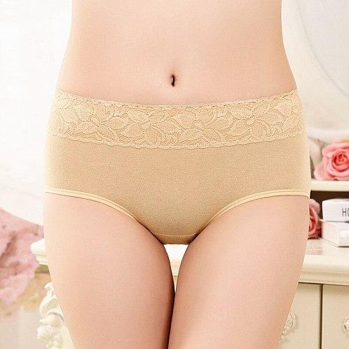 Menstrual Period Panties Leak Proof High Waist Warm Physiological Pants Cotton Ladies Female Lengthen Briefs Women Underwear