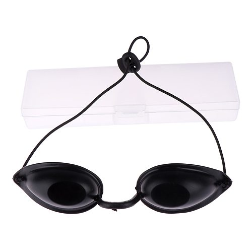 Flexible Uv Eye Protection Indoor & Outdoor Sunbed Tanning Goggles Adjustable Beach Sunbathing Eyewear Soft