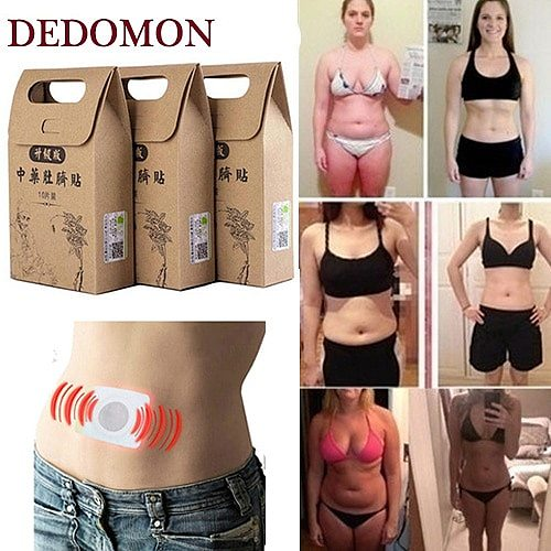 10-30Pcs Chinese Medicine Strongest Weight Loss Navel Stick Magnetic Slim Fat Burning Slimming Diets Patch Detox Adhesive Sheet