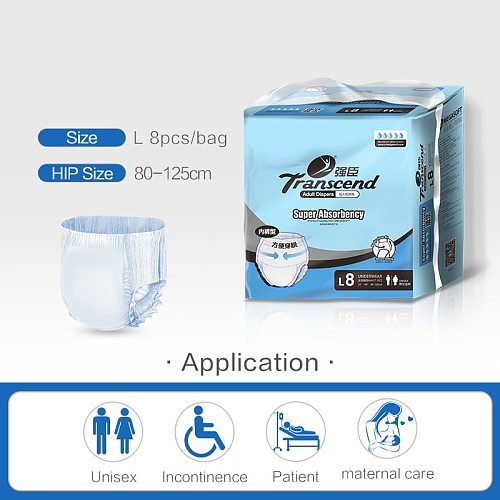 High quality Adult diaper pants incontinence underwear Adult diapers Disposable diaper for adult ABDL diaper adult