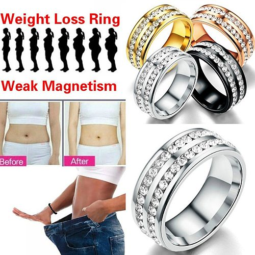 Weight Ring Stimulating Slimming Ring Acupoints Gallstone Ring Health Care Ring Weight Loss  String Fitness Reduce hot sale