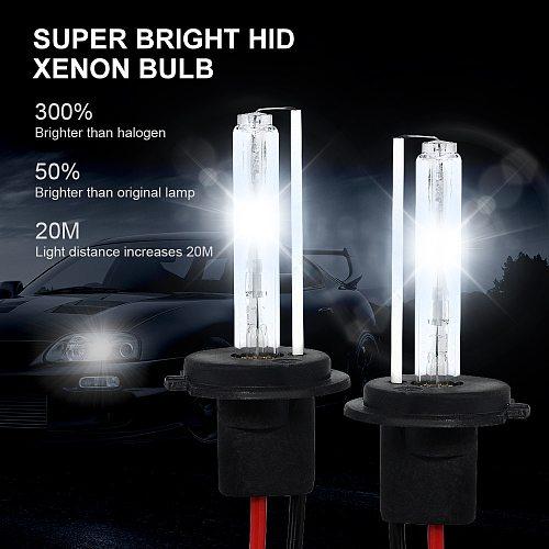 ANBLUB 2pcs 35W HID Xenon Light Lamp DC 12V H1 H3 H7 H11 9005 9006 Auto Car Xenon Bulb 4300k 5000k 6000k 8000k 10000k 12000k