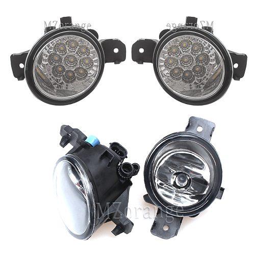 fog light Fog Lights for Renault Symbol Clio Master Laguna Grand 1998-2015 Halogen headlight LED headlights 2pcs foglights DRL
