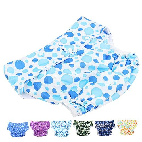 Adult Washable Cloth Diaper Adjustable Reusable Ultra Absorbent Incontinence Pants Nappy Leakproof Diaper Pants For Men & Women
