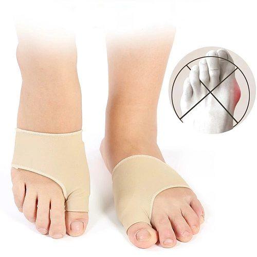 GenkentFootPads 1 pair Bunion Corrector Pain Relief Soft Gel Pads Toecushion Sleeve Orthopedic Splint Protector Cover Guard