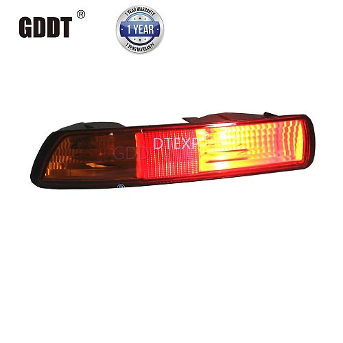 1 piece Rear Bumper Lamp for Pajero V73 Rear Fog Light for MONTERO 2000-2003 V75 V77 Stop Warning  for Shogun Clearance Lights