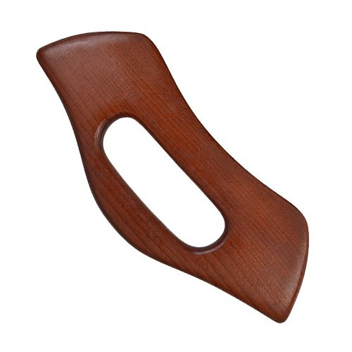 New Carbonized Wooden Guasha Massage Scraper Pressure Therapy Acupoint Massager Facial Body Health Care Handle Massage Tool