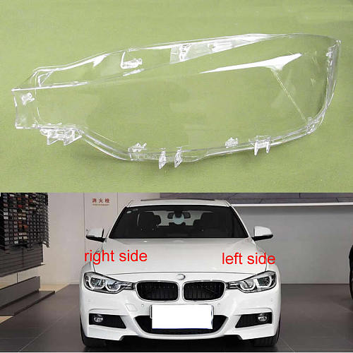 For BMW 3 Series F35 F30 316 320 328Li 335 2016 2017 2018 Led Headlights Cover Lampshade Headlights Lampshade Headlamp Shell