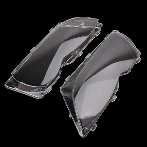 2 Pcs/Pair Headlight Lenses Replacement Left&Right Headlamp For BMW 2001-2006 BMW E46 320i/325i/325xi/330i/330xi Touring/Wagon
