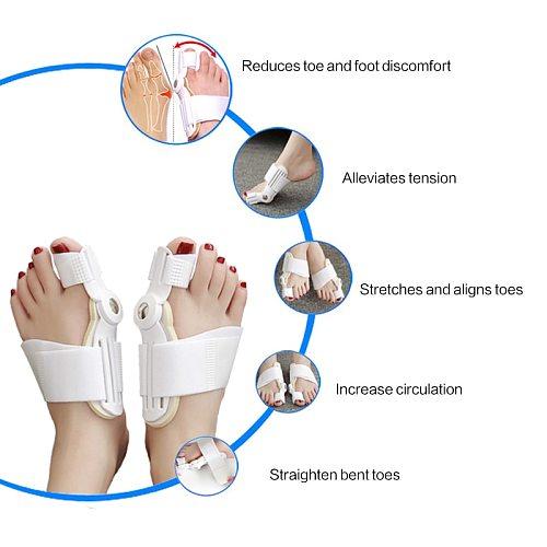 Big Toe Straightener Corrector Foot Care Bunion Splint Pain Relief Hallux Valgus Correction Orthopedic Supplies Pedicure Tool