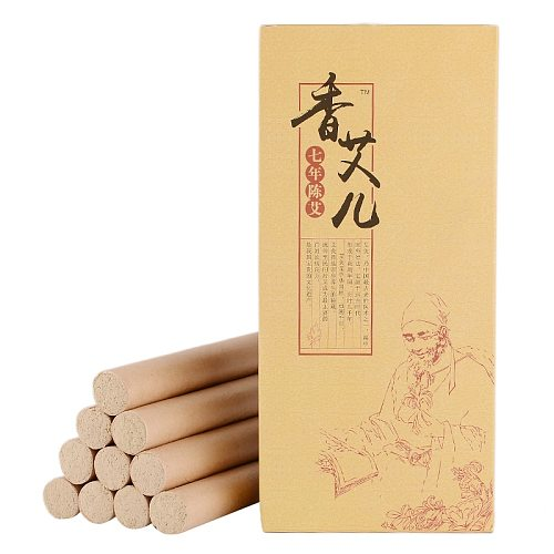 10pcs 18*200 Moxa Rolls Chinese Pure Traditional Moxibustion Roll Roller Acupuncture Massage Therapy