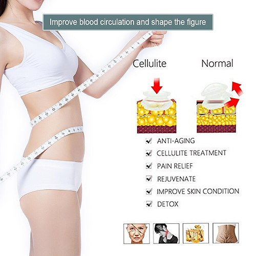 7cups Premium Transparent silicone cupping set device cellulite massager traditional Chinese Therapy Medical Vacuum