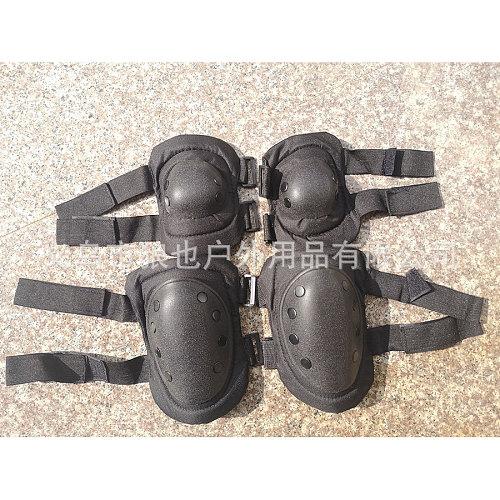 Outdoor Combat CS Sports Kneecaps Elbow Pad Four-Piece Black Eagle Protective Gear 088 Black Eagle Tactical Knee Pad