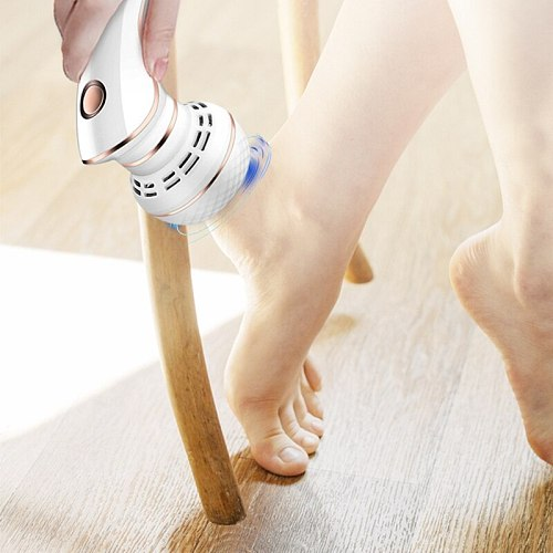 Electric Pedicure Grinder Remove Dead Skin Calluses Remover Foot Care Machine E65F