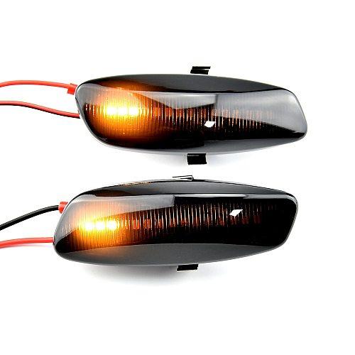 For Citroen C4 Picasso C3 C5 DS4 Peugeot 308 207 3008 5008 LED Car Dynamic Side Marker Signal Lamp Light Signal Light