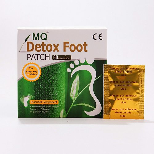 MQ 240 Piece=120 Pcs Patch+120 Pcs Adhesive Detox Foot Patch Vinegar Pad Improve Sleep Beauty Slimming Loss Weight