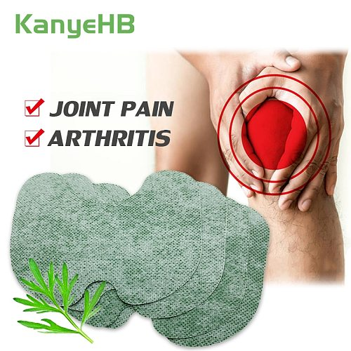 12pcs Knee Medical Plaster Sticker Wormwood Extract Knee Joint Ache Pain Relieving Rheumatoid Arthritis Massage Ointment Patches