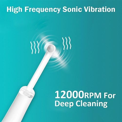 Electric Ultrasonic Sonic Pic Tooth Stain Eraser Plaque Remover Dental Tool Teeth Whitening Dental Cleaning Scaler tooth pick