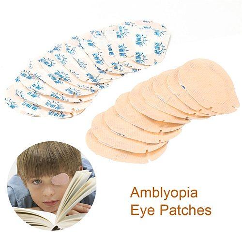 Soft 20Pcs/Set Child Amblyopia Eye Training Eyeshade Orthoptic Corrected Eye Patches Children Lazy EyeMask