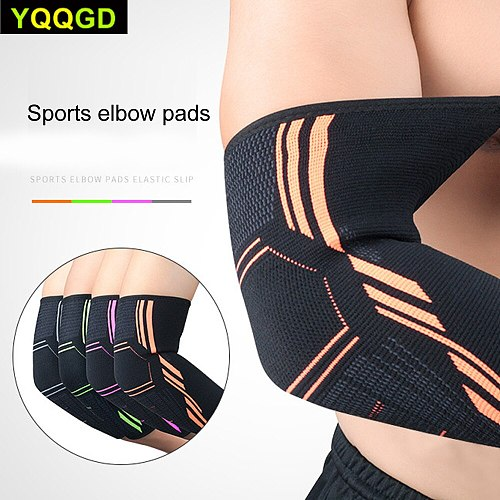 1Pcs Elbow Sleeve Elbow Compression Sleeve Sports Arm Forearm Brace Support Pad Crash-proof Basketball Cycling Arm Guard Sleeve