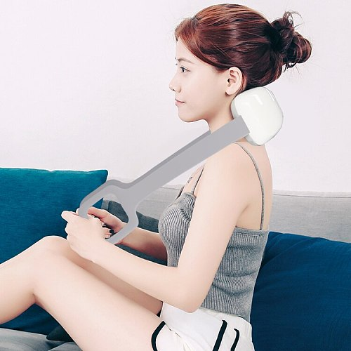 Multifunctional Physiotherapy Far Infrared Heating Pain Relief Electric Back and Neck Arm Waist Massager
