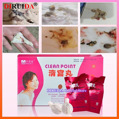 Original Chinese Herbs Vaginal Tightening Tampon Vagina Clean Point Yoni Pearls Fibroid Womb Detox Uterus Healing for Woman Care