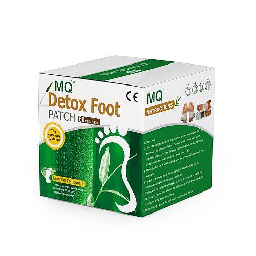 MQ 240 Piece=120 Pcs Patch+120 Pcs Adhesive Detox Foot Patch Vinegar Pad Improve Sleep Beauty Slimming Loss Weight