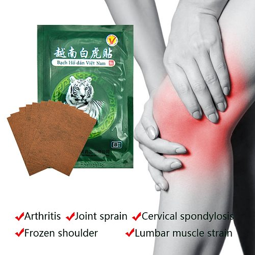120pcs/15bags Vietnam White Tiger Patch Meridians Plaster Lumbar Pain Relief Back/Neck Muscular Pain relieving Health Care