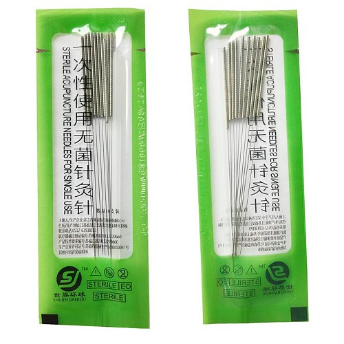 2 boxes 500pcs/box huanqiu sterile acupuncture needle for single use beauty body massage needle 0.18/0.20/0.25/0.3/0.35/0.40mm
