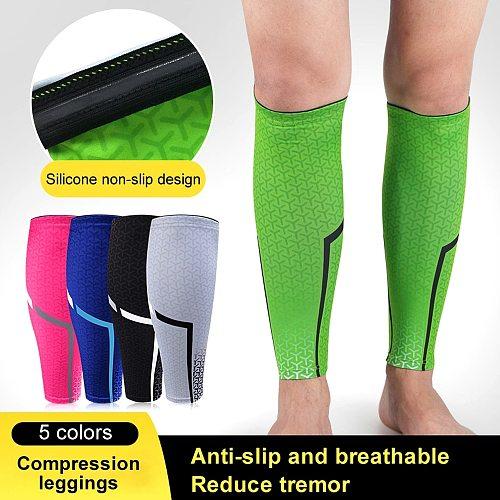 Tcare 1Pcs Calf Compression Sleeves Leg Compression Socks Runners Shin Splint Varicose Vein Calf Pain Relief Calf Guards Running
