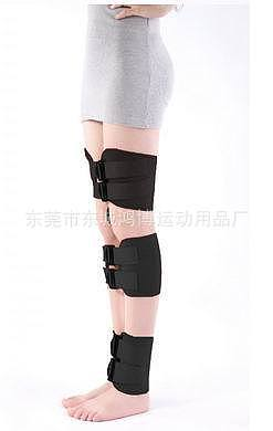 Free shippingTo Ultra Thick Diving Material Bowlegs Medical Gear Type X0 Leg Orthodontic Correction Diving Material Bind Belt