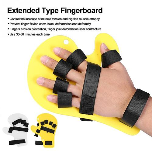 Adjustable Akozon  Braces Supports Finger Board Hand Training Support Orthopedic Brace Hand Splint Braces Supports