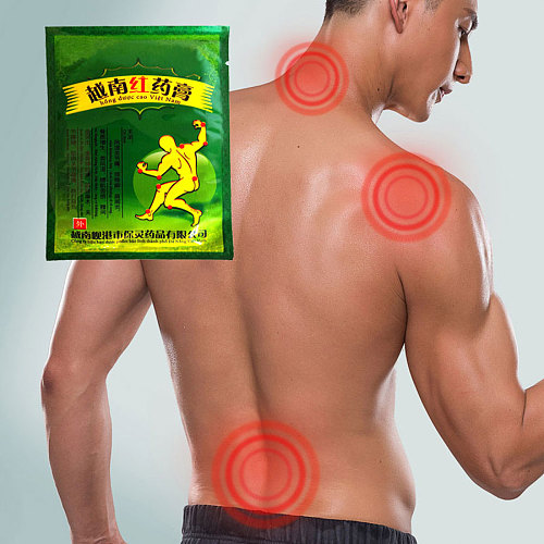 Best effect Vietnam Red Tiger joint Knee Pain relief patch Rheumatoid Arthritis Lumbar/Cervical vertebra Muscle aches Plaster