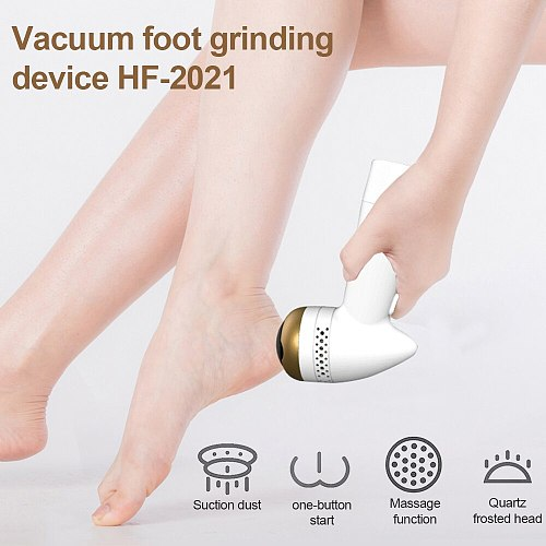2020 Foot Grinding Machine Smooth Feet Hard Cracked Skin Trimmer Pedicure Device Rechargable Callus Remover Foot File Grinder