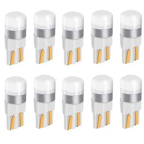 10PCS t10 w5w 194 168 led 3030 smd 350lm t10 w5w Number Plate Illuminating Lamps
