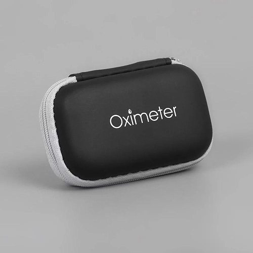 Pulse Oximeter Storage Bag Potable Case Neutral Finger Blood Oximeter Zipper Bag Protect Box 1pcs Oximeter Cover