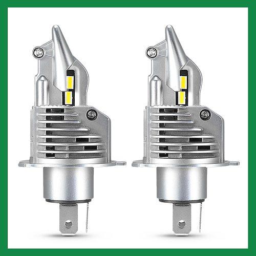/HL LED H4 Light Hi-lo Beam H4 LED Bulb Car Headlight for Motorcycle LED Kit Auto Lamp 16000LM 6500K 100W 12V High Beam Low Beam