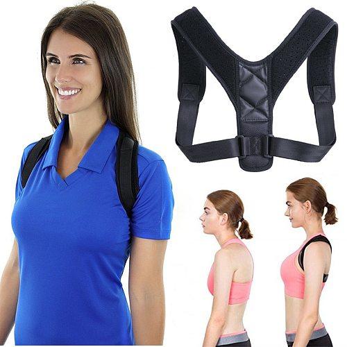 Spine Posture Corrector Protection Back Shoulder Posture Correction Band Humpback Back Pain Relief Corrector Brace