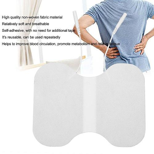 1 Pcs Reusable Self-adhesive Electrode Pad Physiotherapy Gel Patch For Back Waist Body Tens Acupuncture Therapy Massager 11*15cm