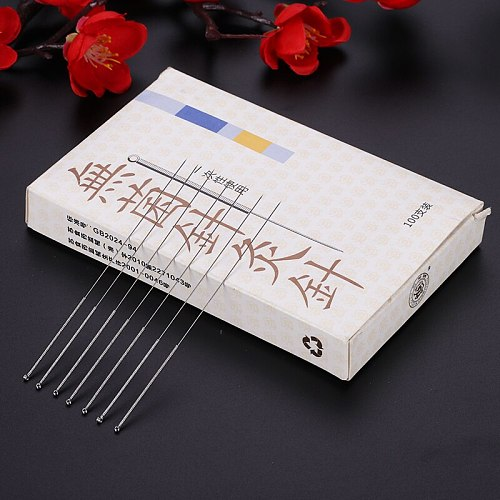 Wholesale 500 Acupuncture Needles Disposable Chinese Needle Acupuncture beauty massage