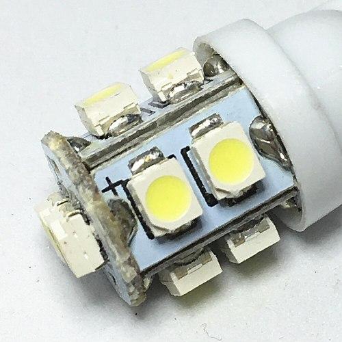 10pcs Car Led Light T10 W5W 168 194 1210 10 SMD LED 3528 SMD Color for Car Auto Led White blue Side Wedge Light Lamp Bulb DC 12V