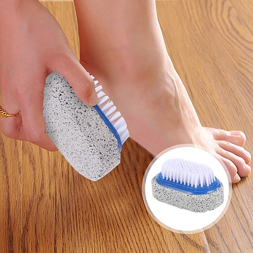 6pcs Callus Stone Remover Feet Pumice Stone Pedicure Tool Multifunctional Double-sided Foot Board Brushes Peeling Foot Stone