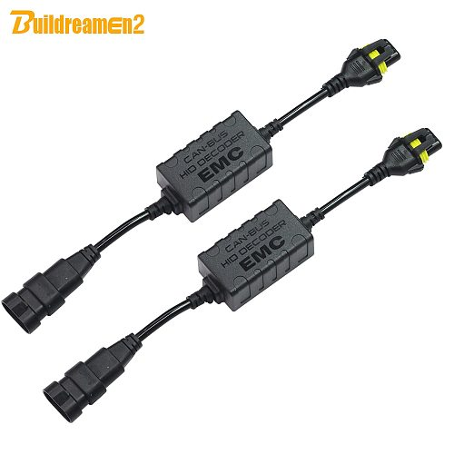 Buildreamen2 CANBUS Decoder For Car HID Xenon Light KIT H1 H3 H4 H7 H8/9/11 9005 9006 9007 Warning Canceller No Error Capacitor