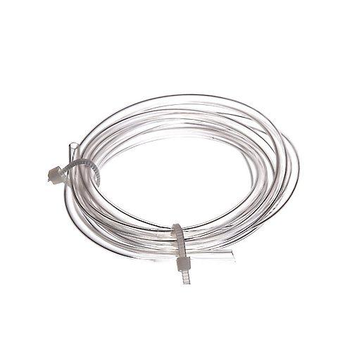 100cm PVC Tubing Tube for IEM BTE Hearing Aid Earmold Earmould DIY In-ear Monitor Driver Damper 1.0 mm ID, 1.5mm ID, 2.0mm ID,