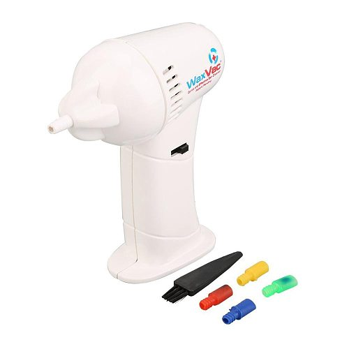 1  Ear Cleaner + 4 silicone tips + 1 cleaning brush Healthy Painless Health Electric Wax Remover Pick Cordless Vacuum Painless